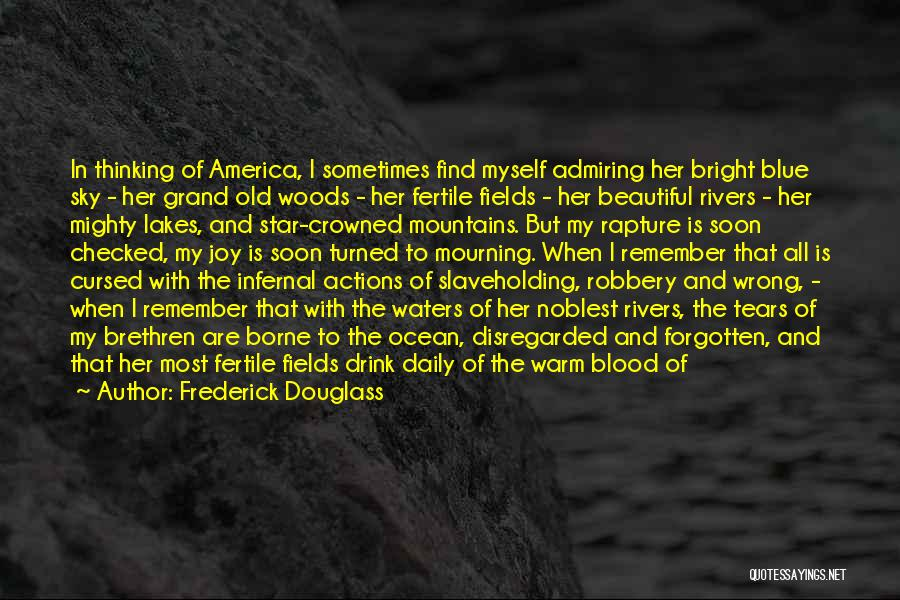 Star In Quotes By Frederick Douglass