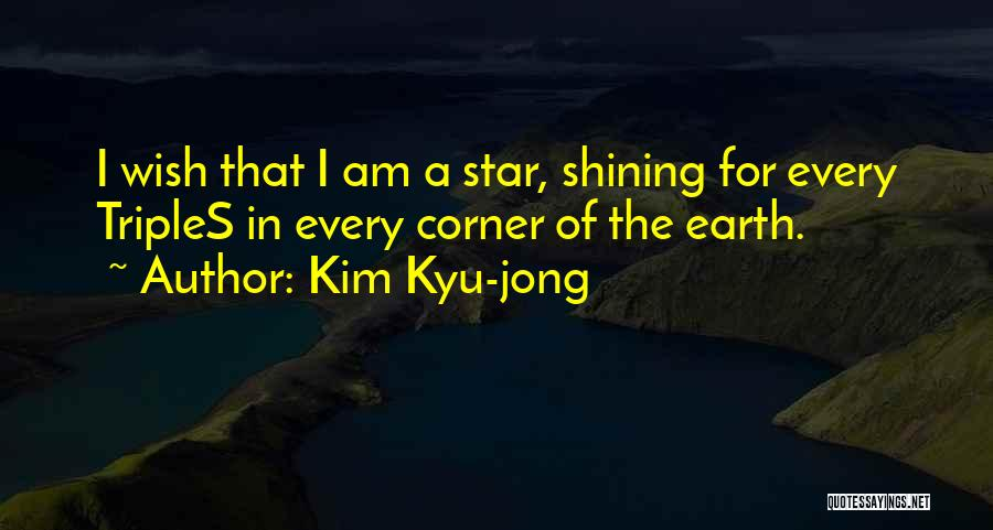 Star In Quotes By Kim Kyu-jong