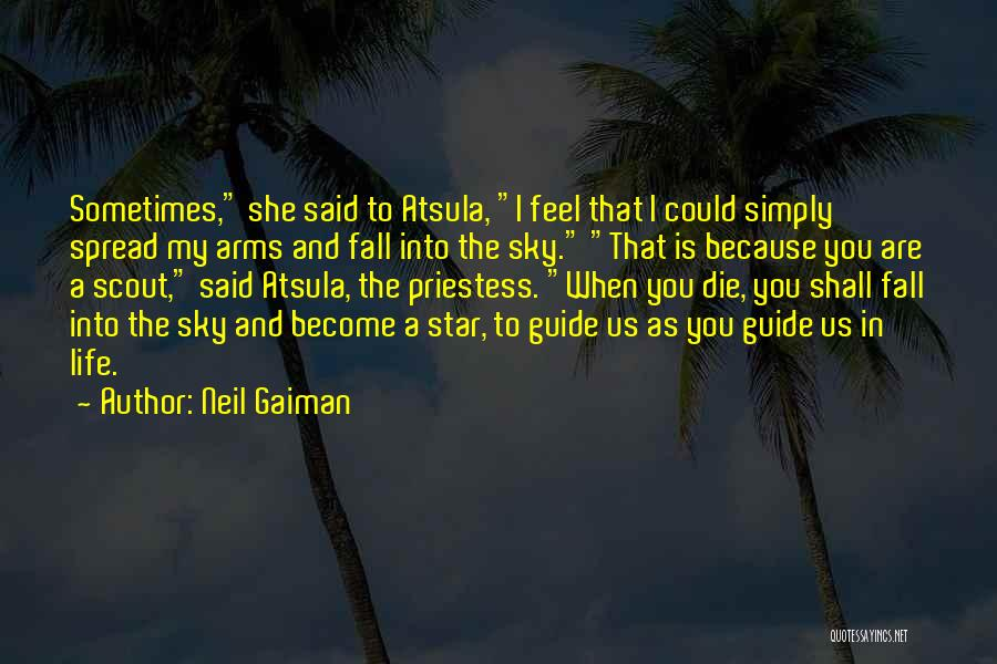 Star In Quotes By Neil Gaiman