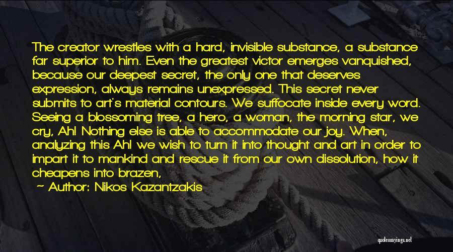 Star In Quotes By Nikos Kazantzakis