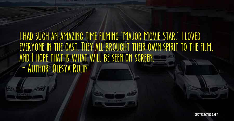 Star In Quotes By Olesya Rulin