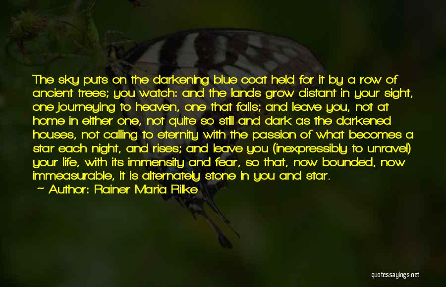 Star In Quotes By Rainer Maria Rilke