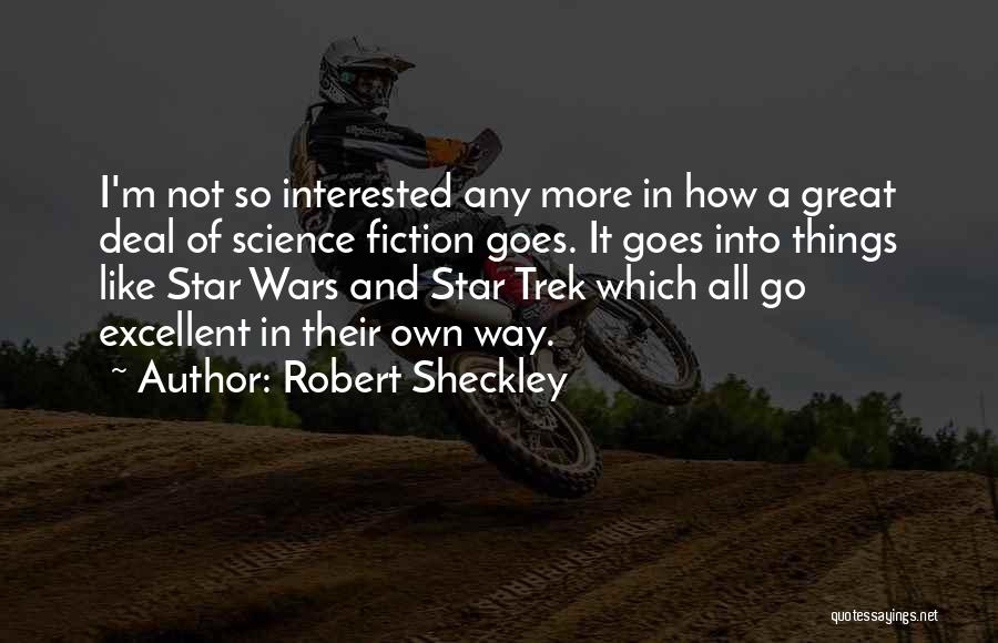 Star In Quotes By Robert Sheckley