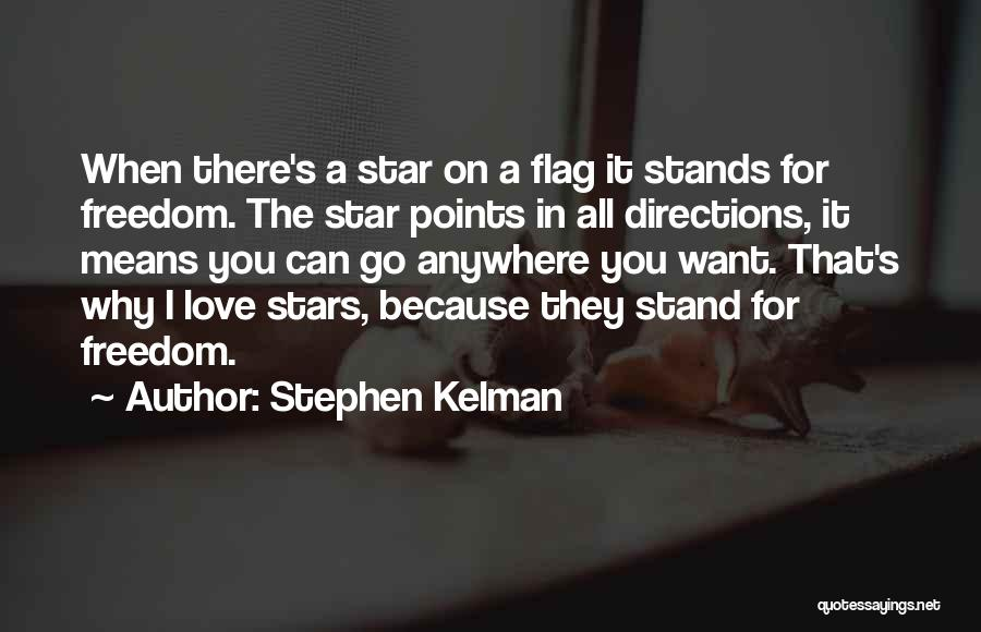 Star In Quotes By Stephen Kelman