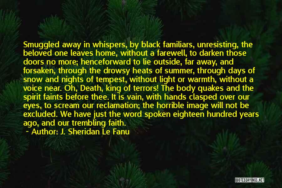 Star Of Bethlehem Quotes By J. Sheridan Le Fanu