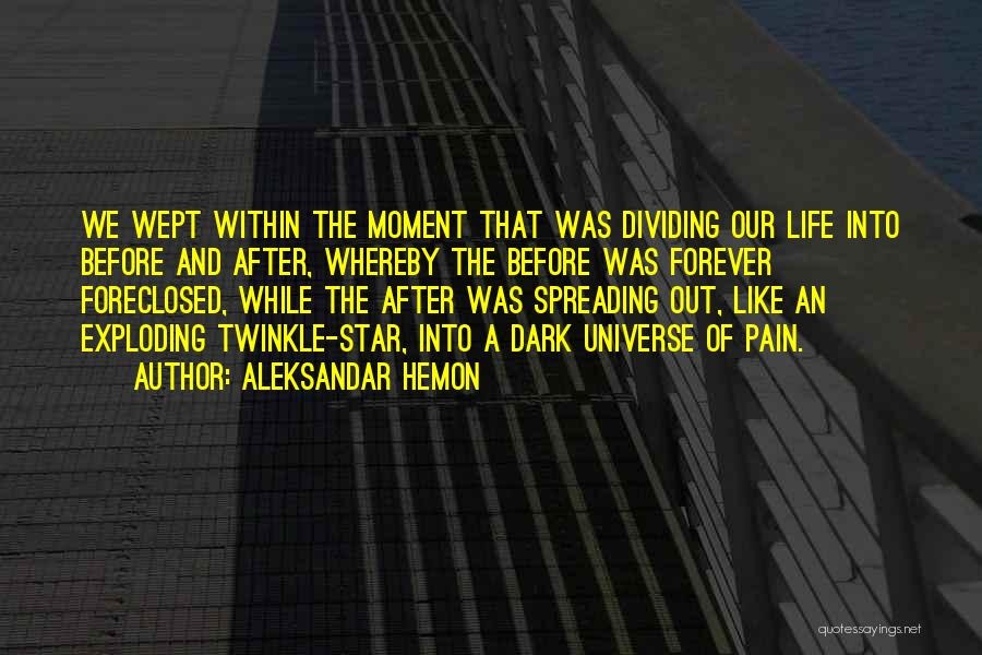 Star Twinkle Quotes By Aleksandar Hemon