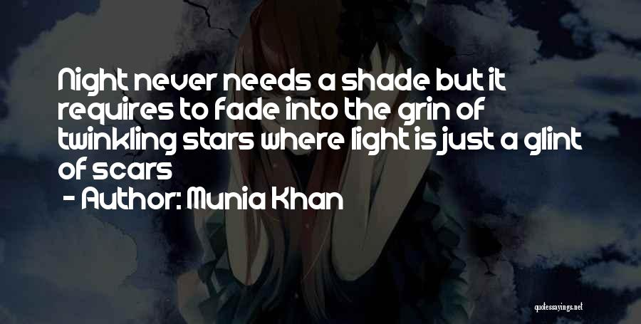 Star Twinkle Quotes By Munia Khan