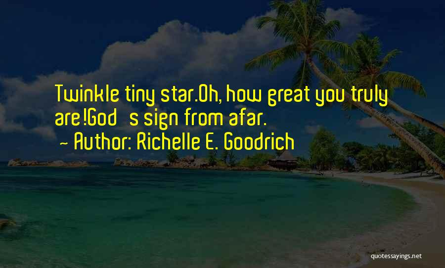Star Twinkle Quotes By Richelle E. Goodrich
