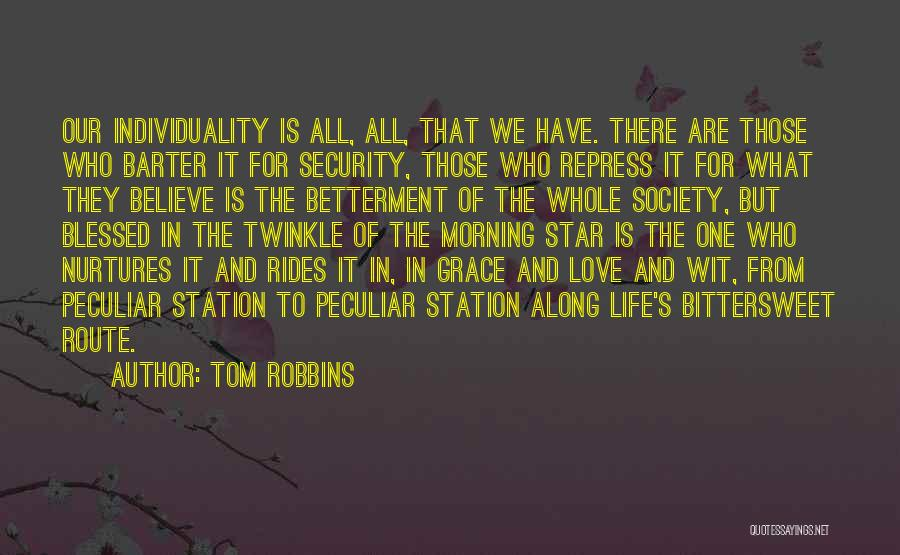 Star Twinkle Quotes By Tom Robbins