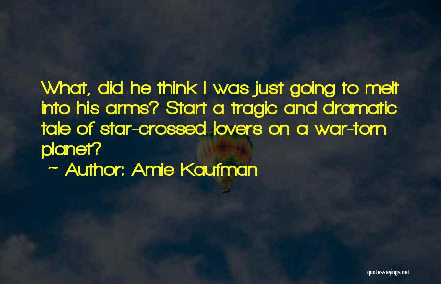 Star War 3 Quotes By Amie Kaufman