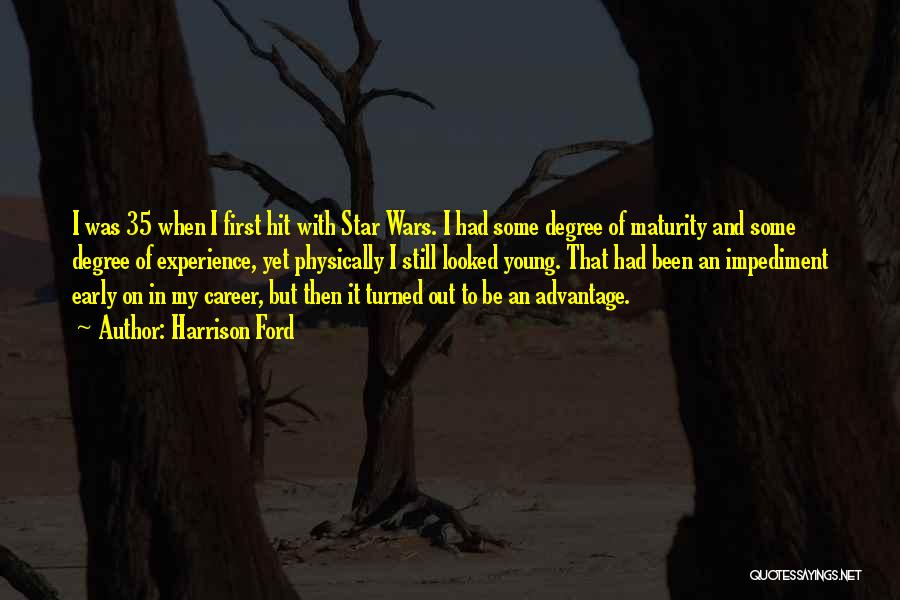 Star War 3 Quotes By Harrison Ford