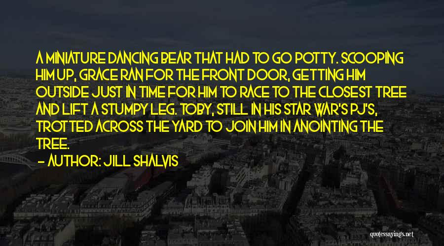 Star War 3 Quotes By Jill Shalvis
