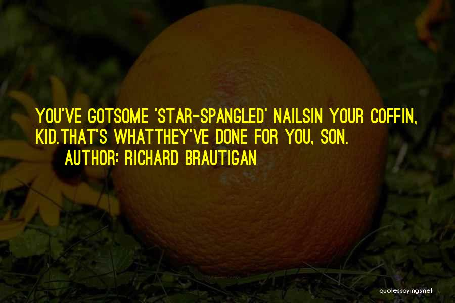 Star War 3 Quotes By Richard Brautigan