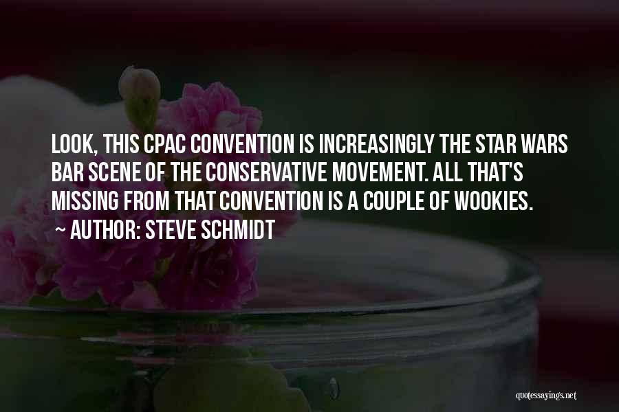 Star War 3 Quotes By Steve Schmidt