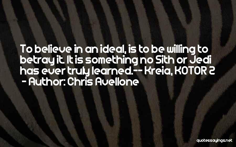 Star Wars Kotor 2 Quotes By Chris Avellone
