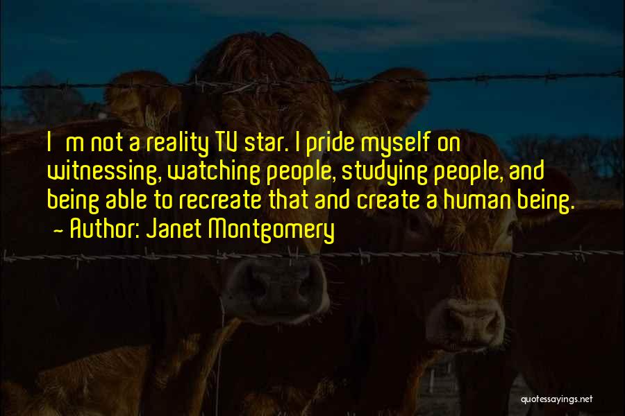 Star Watching Quotes By Janet Montgomery