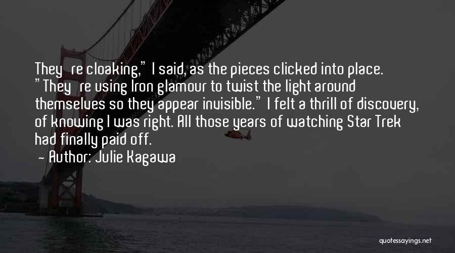 Star Watching Quotes By Julie Kagawa