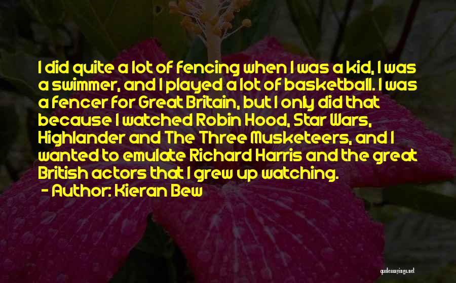 Star Watching Quotes By Kieran Bew