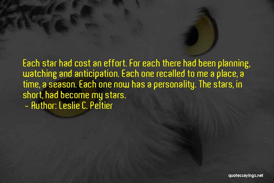 Star Watching Quotes By Leslie C. Peltier