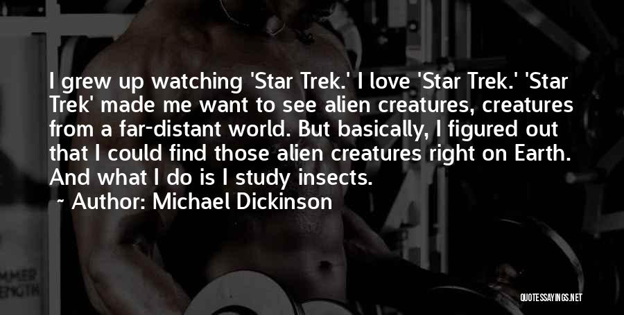 Star Watching Quotes By Michael Dickinson