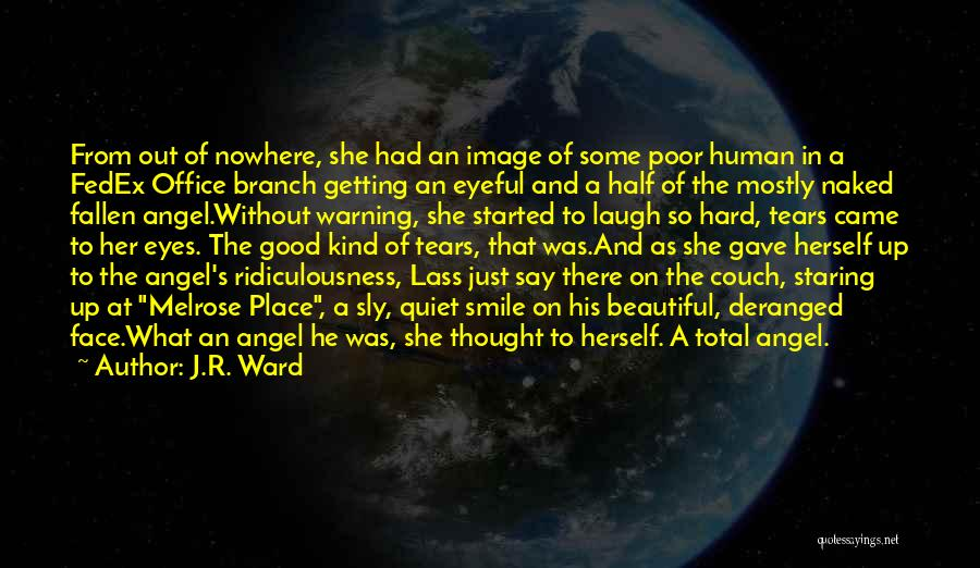 Staring Into Someone's Eyes Quotes By J.R. Ward