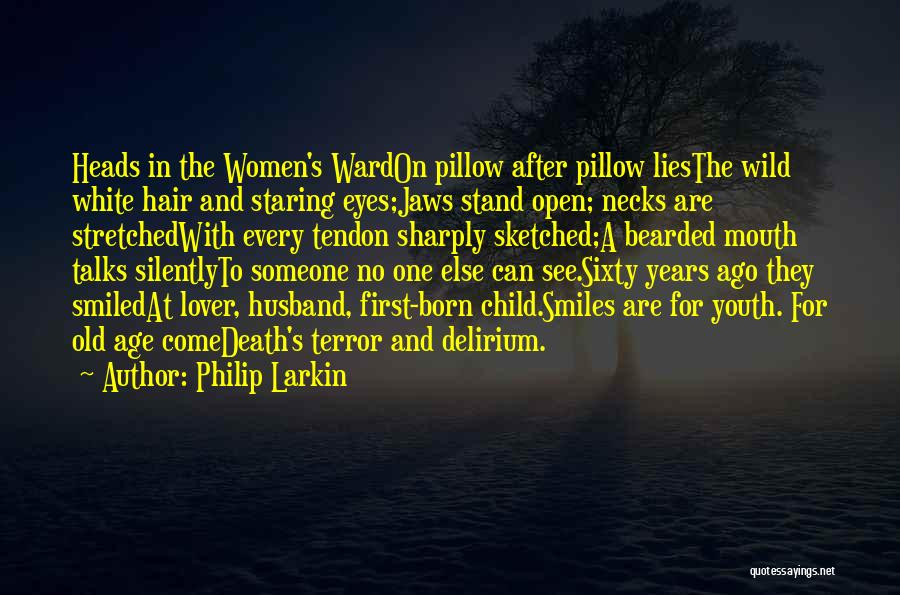 Staring Into Your Lover's Eyes Quotes By Philip Larkin