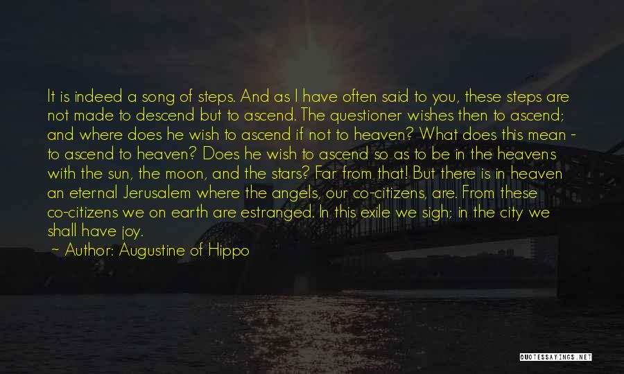 Stars And Angels Quotes By Augustine Of Hippo
