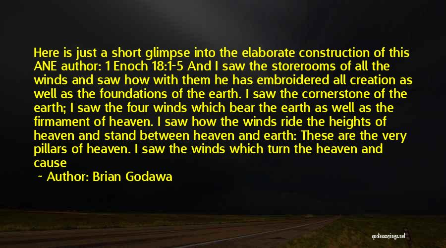 Stars And Angels Quotes By Brian Godawa