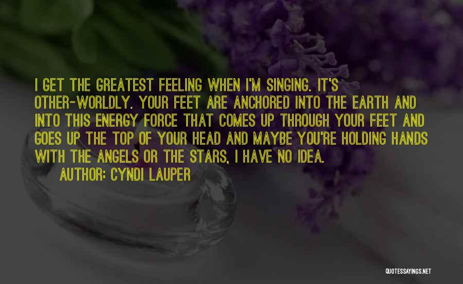 Stars And Angels Quotes By Cyndi Lauper