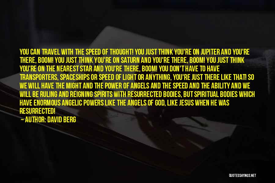 Stars And Angels Quotes By David Berg