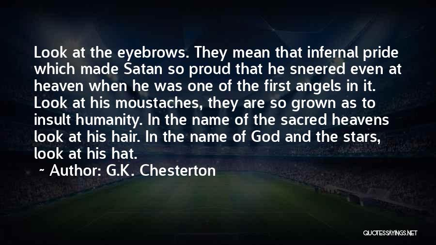 Stars And Angels Quotes By G.K. Chesterton