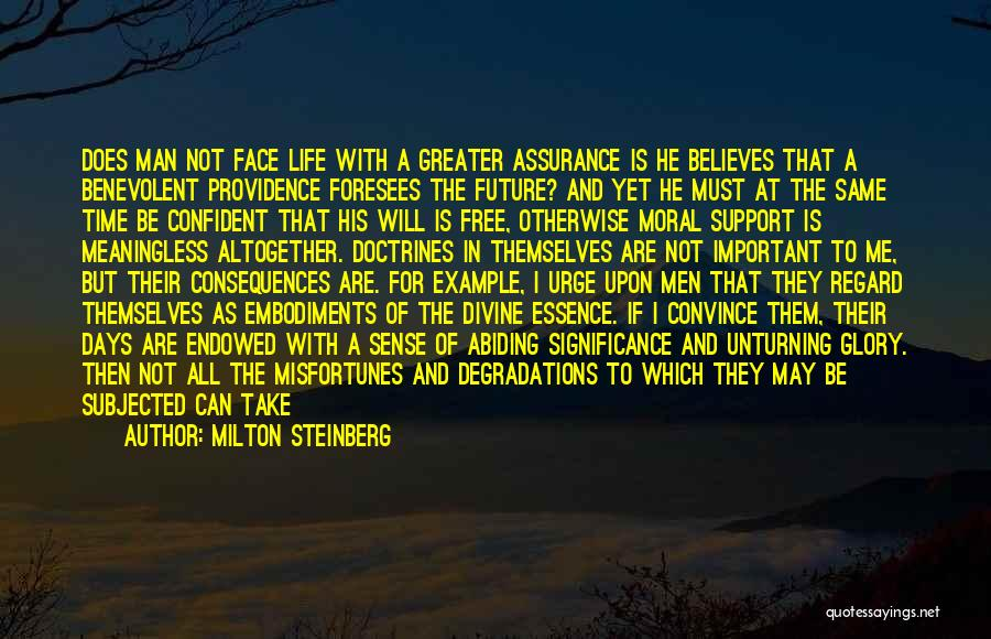 Stars And Angels Quotes By Milton Steinberg