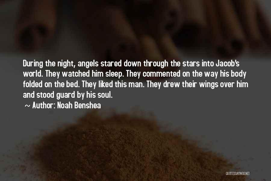 Stars And Angels Quotes By Noah Benshea