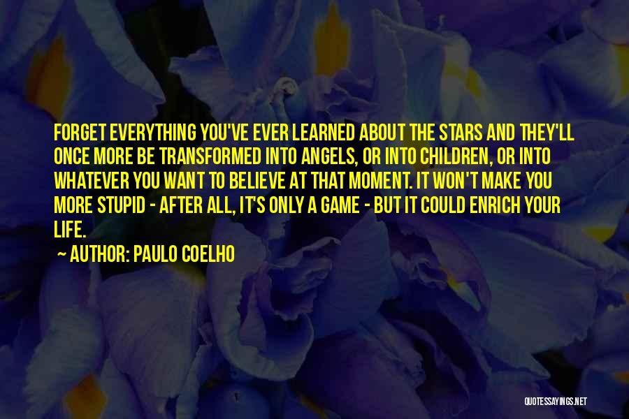 Stars And Angels Quotes By Paulo Coelho