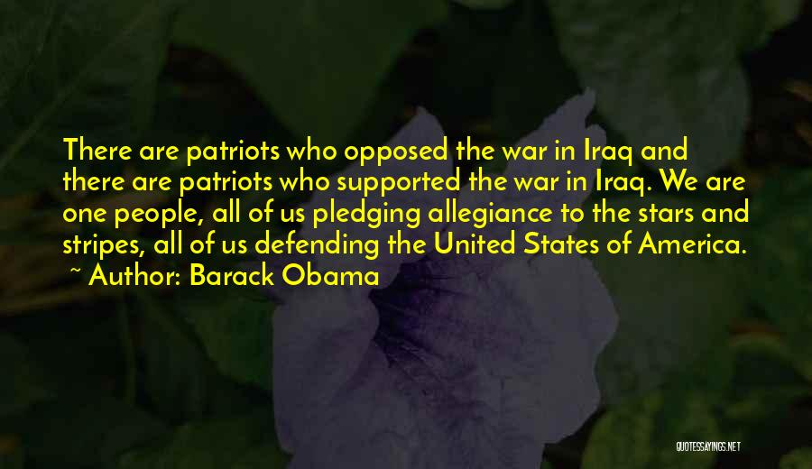Stars And Stripes Quotes By Barack Obama