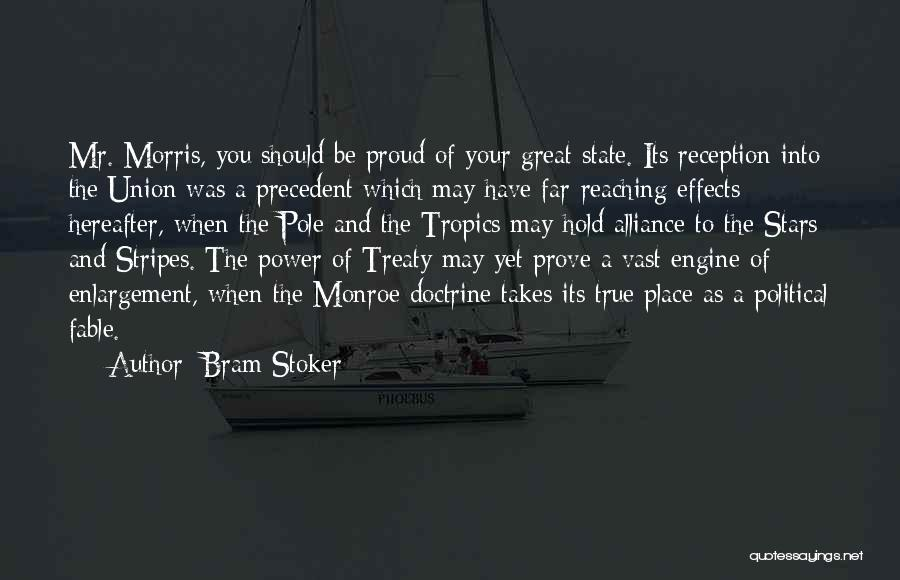 Stars And Stripes Quotes By Bram Stoker