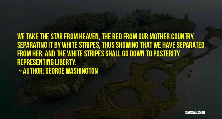 Stars And Stripes Quotes By George Washington