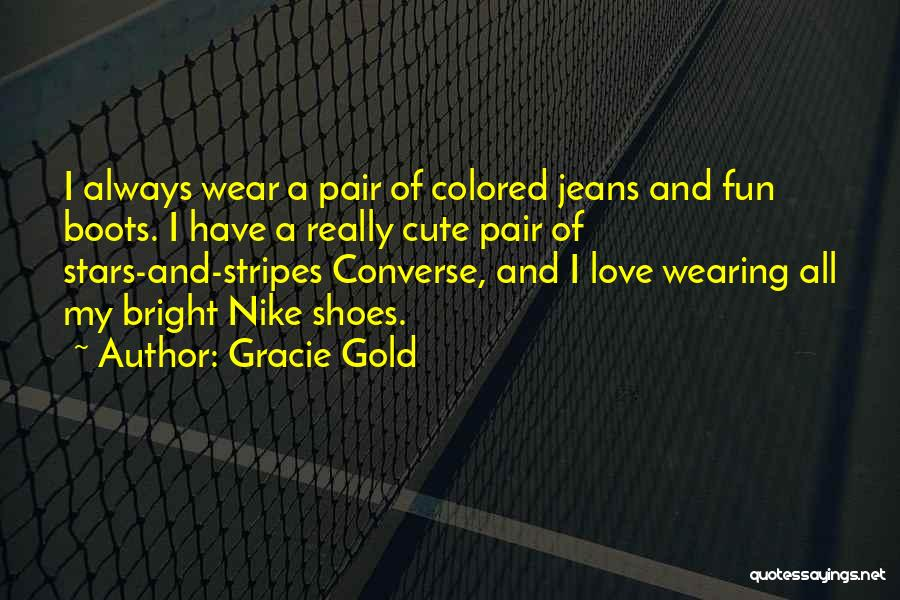 Stars And Stripes Quotes By Gracie Gold