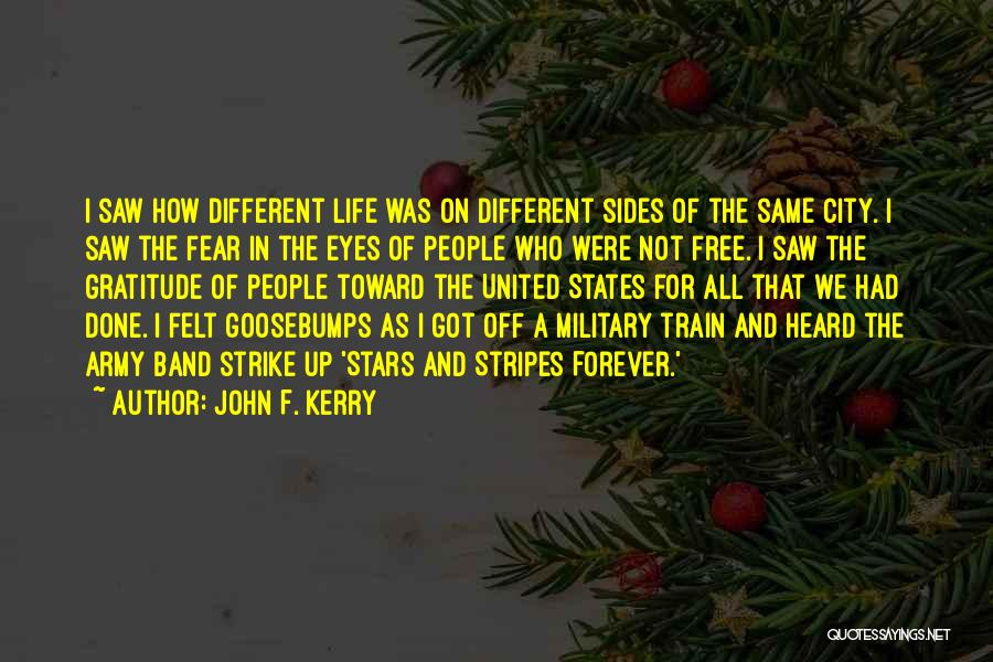 Stars And Stripes Quotes By John F. Kerry