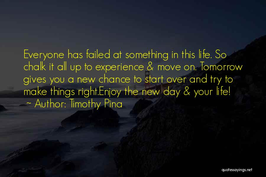 Start Day Right Quotes By Timothy Pina