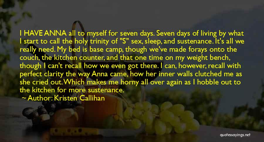 Start It All Over Again Quotes By Kristen Callihan