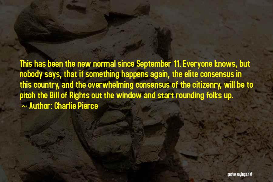 Start Of Something New Quotes By Charlie Pierce