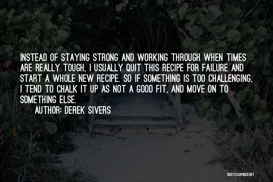 Start Of Something New Quotes By Derek Sivers