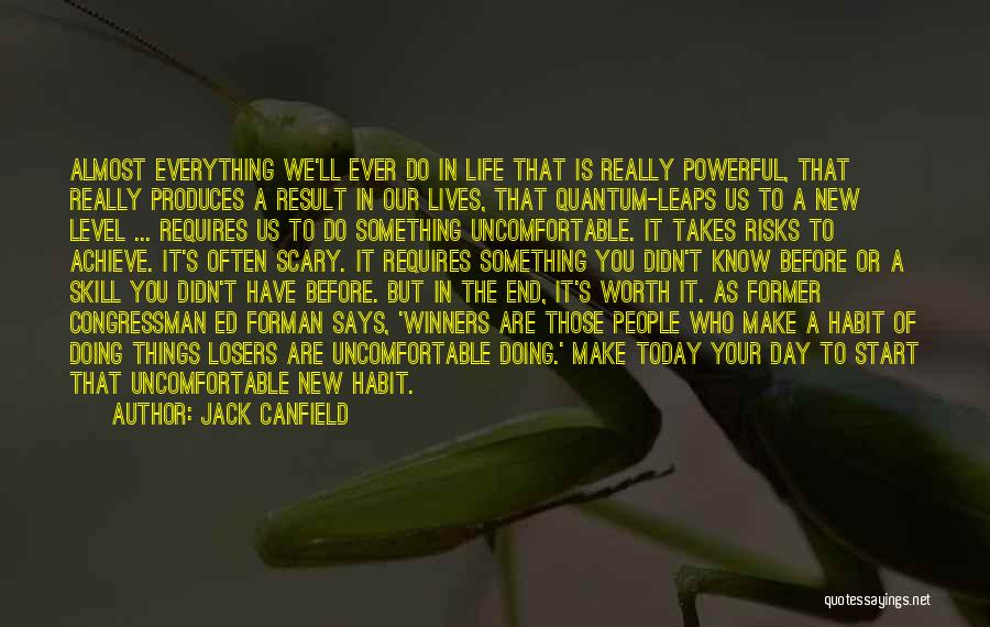 Start Of Something New Quotes By Jack Canfield