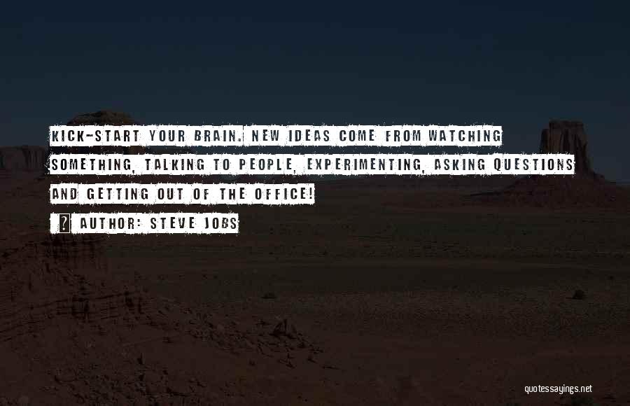 Start Of Something New Quotes By Steve Jobs