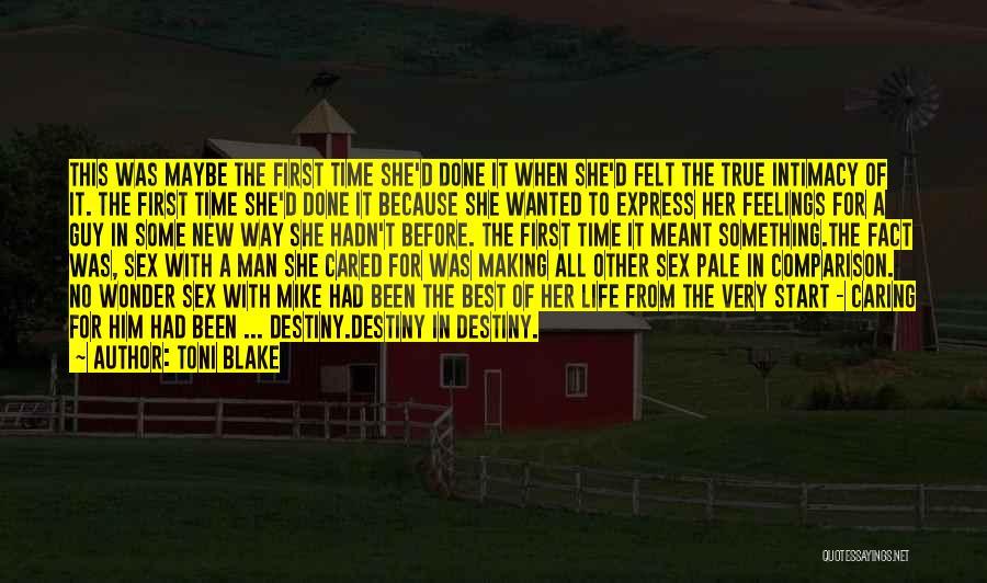 Start Of Something New Quotes By Toni Blake