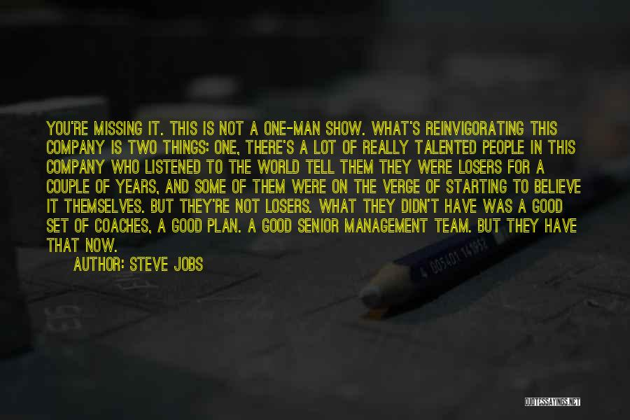 Starting A Company Quotes By Steve Jobs