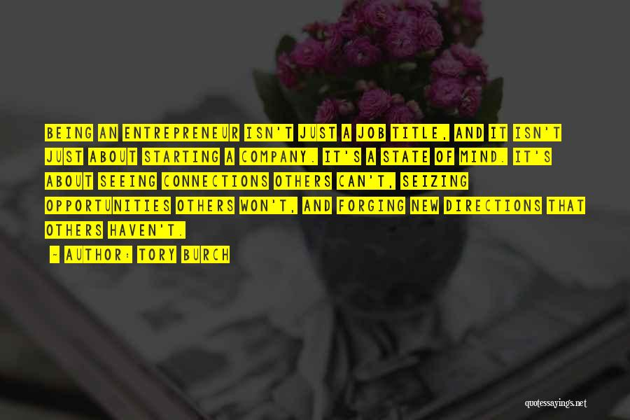 Starting A Company Quotes By Tory Burch