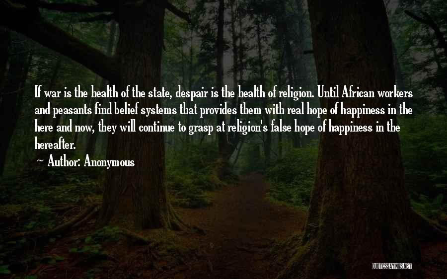 State And Religion Quotes By Anonymous