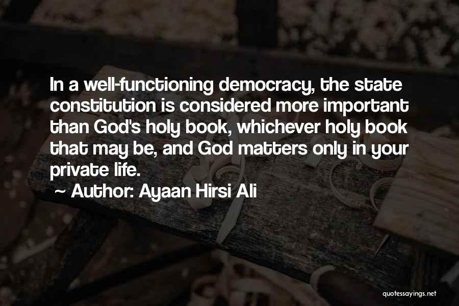 State And Religion Quotes By Ayaan Hirsi Ali